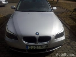 BMW 5 Series saloon 2004,  Tauragė