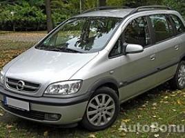 Opel Zafira 2001 Kaunas