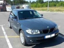 BMW 1 serija, Hečbekas, 2006-09-18 | 2