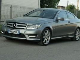 Mercedes-Benz C klasė kupė