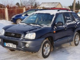 Hyundai Santa Fe visureigis 2004,  Kėdainiai