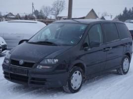 Fiat Ulysse vienatūris 2006,  Kėdainiai