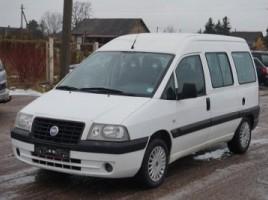 Fiat Scudo vienatūris 2006,  Kėdainiai