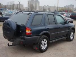 Opel Frontera, Cross-country, 2000-01 | 2