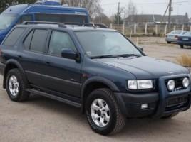 Opel Frontera, Cross-country, 2000-01 | 1