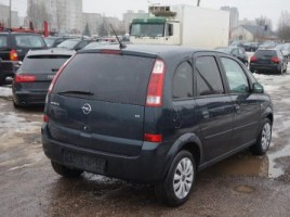 Opel Meriva, Vienatūris, 2005-06   3