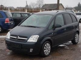 Opel Meriva, Vienatūris, 2005-06   0