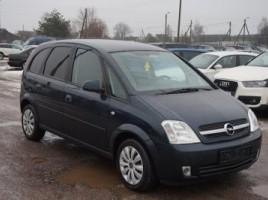 Opel Meriva, Vienatūris, 2005-06   1