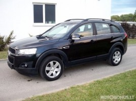 Chevrolet Captiva, Visureigis, 2012 | 2
