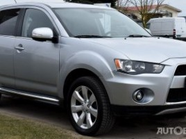 Mitsubishi Outlander cross-country