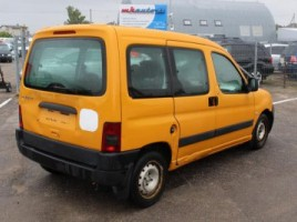 Peugeot Partner, Vienatūris, 2003-01   2