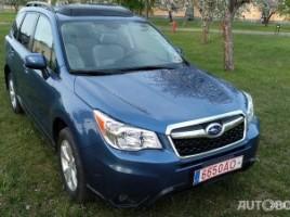 Subaru Forester visureigis
