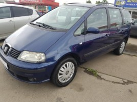 Seat Alhambra cross-country