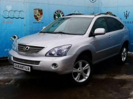 Lexus RX 400h cross-country