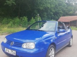 Volkswagen Golf kabrioletas