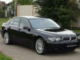 BMW 745 saloon