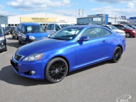 Lexus IS 250 kabrioletas
