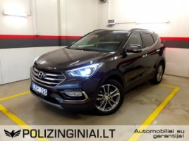Hyundai Santa Fe cross-country