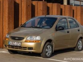 Chevrolet Kalos sedanas