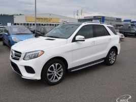 Mercedes-Benz GLE350 cross-country