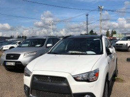Mitsubishi ASX cross-country