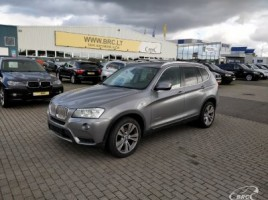 BMW X3 cross-country