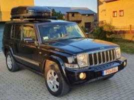 Jeep Commander cross-country