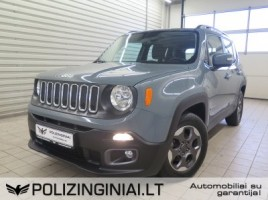 Jeep Renegade cross-country
