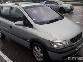 Opel Zafira, 2.0 l., vienatūris | 0