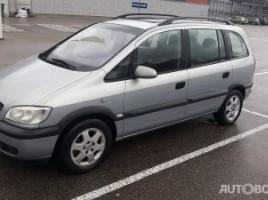 Opel Zafira, 2.0 l., vienatūris | 2