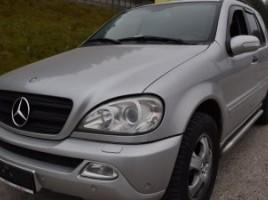 Mercedes-Benz ML270 visureigis