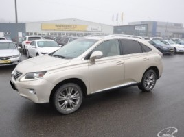Lexus RX 450h cross-country