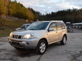 Nissan X-Trail cross-country