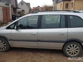 Opel Zafira, 2.2 l., vienatūris | 1