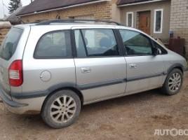 Opel Zafira, 2.2 l., vienatūris | 2