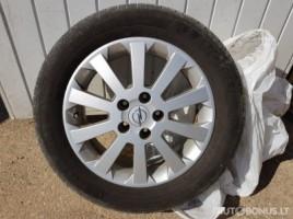 Opel Astra,Zafira lengvojo lydinio ratlankiai | 0