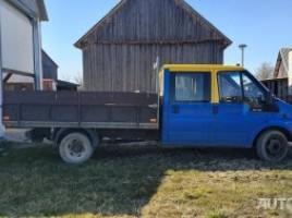 Ford Trasit, Dviguba kabina | 1