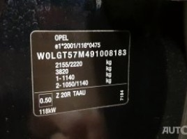 Opel Insignia, 2.0 l., sedanas   3
