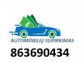 AUTOMOBILIU SUPIRKIMAS automobiliai