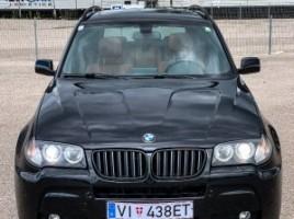 BMW X3, 3.0 l., visureigis | 1