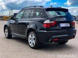 BMW X3, 3.0 l., visureigis | 3