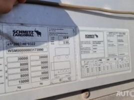Schmitz Cargobull SCB S3T tentinė puspriekabė | 1