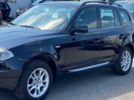 BMW X3 visureigis