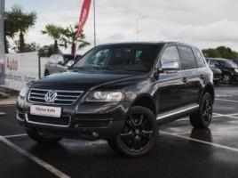 Volkswagen Touareg cross-country