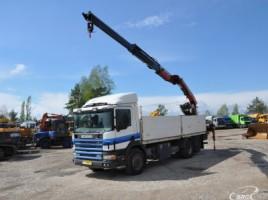 Scania P 114 PALFINGER PK14080L, Su kranu | 0