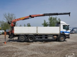 Scania P 114 PALFINGER PK14080L, Su kranu | 2