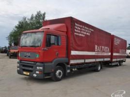 MAN 18.313 + trailer MADO bortiniaisutentu