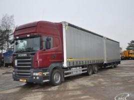 Scania R 480 + trailer Wielton bortiniaisutentu