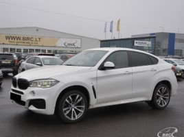 BMW X6 cross-country