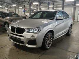 BMW X4 cross-country